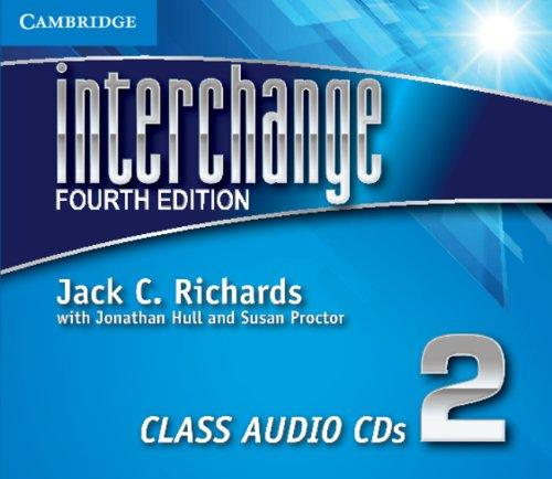 Interchange Level 2 Class Audio CDs (3 CD)