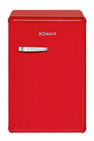 Холодильник Bomann VSR 352 RETRO red