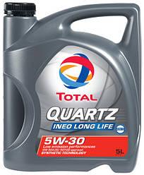 QUARTZ INEO LL 5W30 5L   Моторное масло