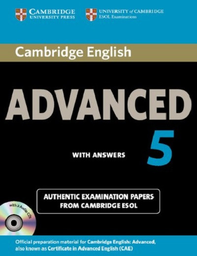 Cambridge English Advanced 5 Self-study Pack (Students Book with answers and Audio CD)