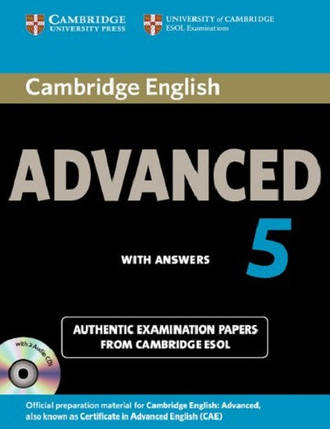 Cambridge English Advanced 5 Self-study Pack (Students Book with answers and Audio CD), фото 2