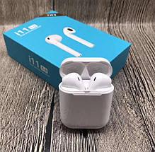 Бездротові навушники вкладиші для телефону сенсорні bluetooth i11 TWS