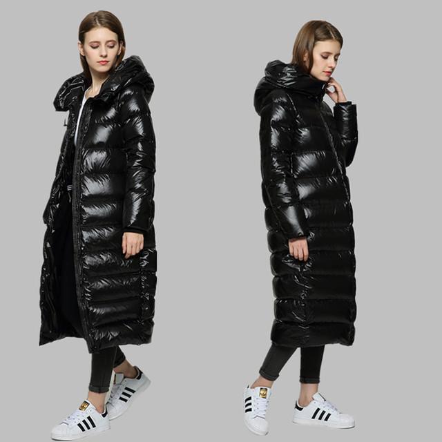 Женская парка-пуховик зимняя теплая с натуральным мехом, серая, размер S, M, L