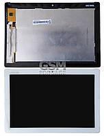 Дисплей Asus ZenPad 10 (Z300c / Z300cg / P021 / P023) complete with touch White (желтый шлейф)