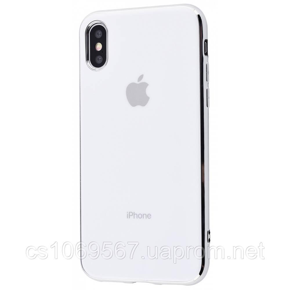 "TPU чехол GLOSSY LOGO для Apple iPhone XS Max (6.5"")"