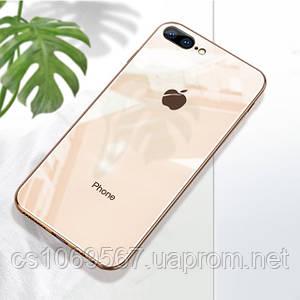 "TPU чехол GLOSSY LOGO для Apple iPhone 7 plus / 8 plus (5.5"")"