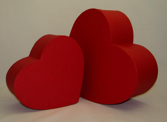 коробка в виде сердца фото