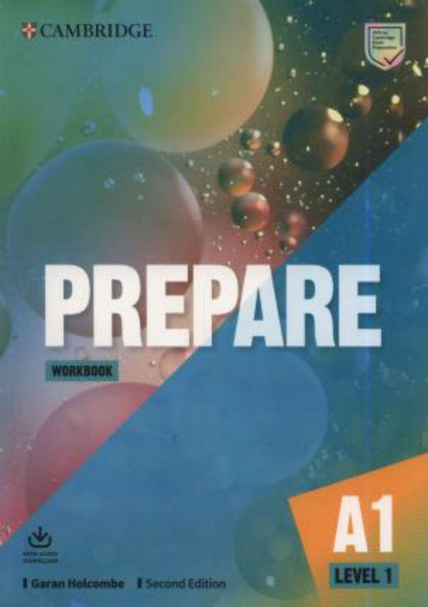 Prepare Level 1 Workbook with Audio Download