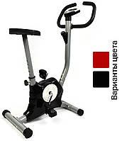 Велотренажер механический 7FIT T8018 Intenso вертикальный для дома (механічний велотренажер для дому)