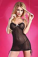 Черная сорочка с блестками Livia corsetti MISHA