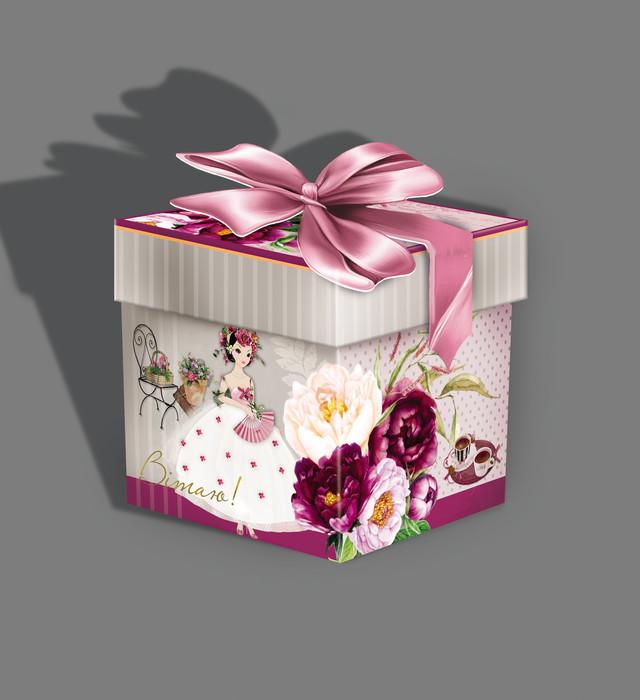готовые подарочные коробки фото