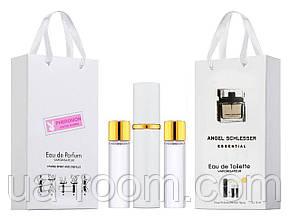 Мини-парфюм женский Angel Schlesser Essential, 3х15 мл