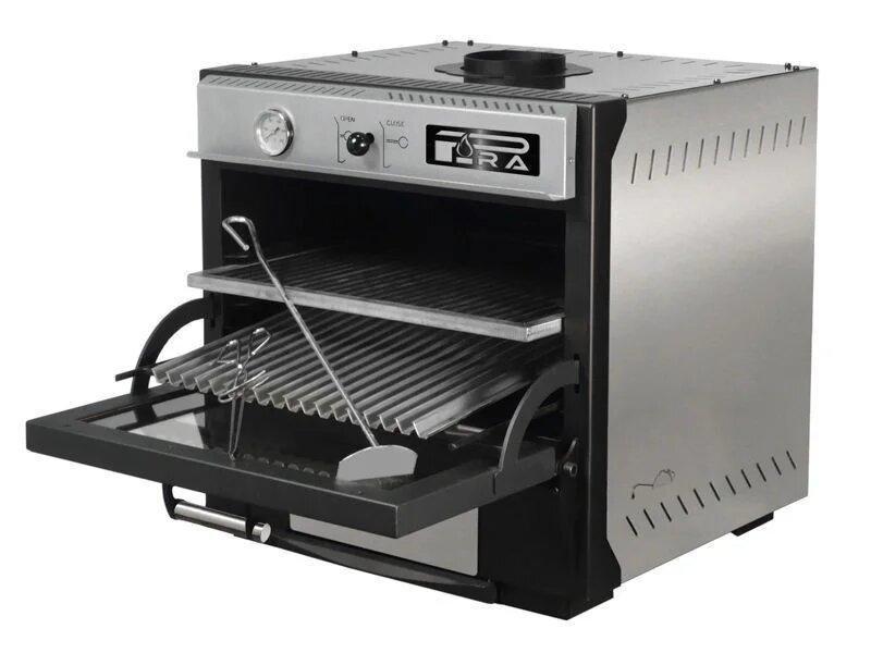 Угольная печь Pira 70 XL LUX BLACK