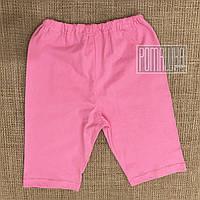 Детские шорты р. 122-128 4-6 лет для девочки ткань СТРЕЙЧ-КУЛИР 95% хлопок 4223 Розовый