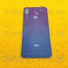 Xiaomi Redmi Note 7 задня кришка для телефону, синього кольору.