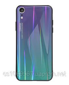 "TPU+Glass чехол Luster для Apple iPhone XR (6.1"")"