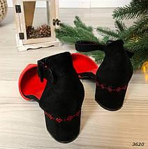 Туфли на среднем каблуке с ремешком, фото 3