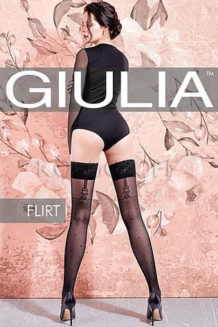 Чулки с узором GIULIA Flirt 40 model 2, фото 2