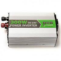 Автомобильный инвертор 24V/220V 300W, USB 5V 1A, HYM300-242 PowerPlant (KD00MS0002), фото 1