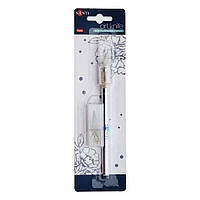 Нож макетный Santi для дизайнерских работ со сменными лезвиями 952427