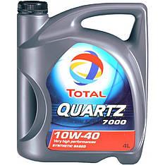 QUARTZ 7000 10W40 4L   Моторное масло