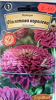 Цинния Пурпурная королева /0,5г/ (в упаковке 10 пакетов)