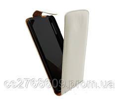 """Чехол книжка """"Croco Case"""" LG P700/Р705 білий"""
