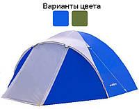 Палатка туристическая трехместная 3000 мм Acamper ACCO 3 (туристична трьохмісна акампер) Синий, фото 1