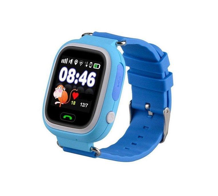 Смарт-часы детские с GPS Smart Watch Q90 Голубые