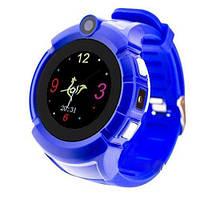 Смарт-часы детские с GPS и камерой Smart Watch Q360 Синие