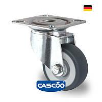 Колесо аппаратное поворотное с подшипником скольжения 50 мм, 50 кг (Германия)