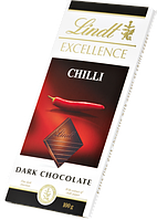 Lindt Excellence Dark Chocolate Chili 100 g