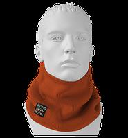 Шарф Бафф (Снуд) мужской вязаный Wookie оранжевый Oxygon Россия