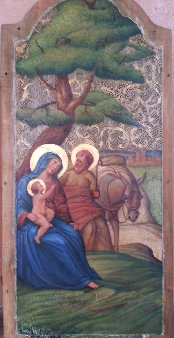 """Ікона """" Святе сімейство 19 століття"""