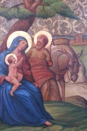 """Ікона """" Святе сімейство 19 століття, фото 2"""