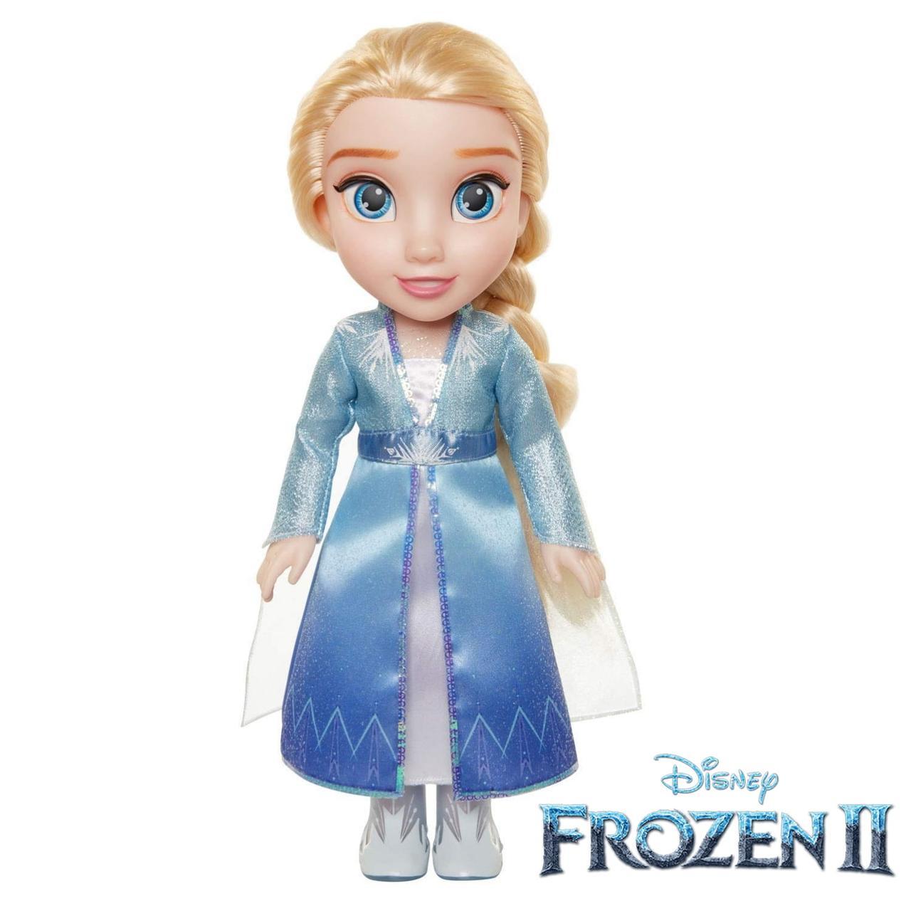 Кукла Disney Frozen 2 Путешествие Эльзы Disney Frozen 2 Elsa Travel Doll