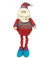 Дед мороз с гнущимися ногами ТМ Новогодько 64см
