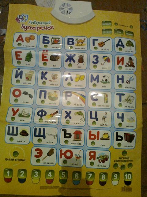 "Говорящий плакат ""Букварёнок"""