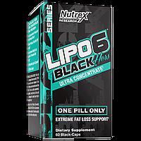 Жиросжигатель для женщин Nutrex Lipo-6 Black Hers Ultra Concentrate (60 капсул)