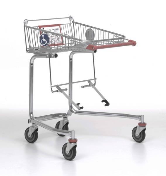 Тележка Wanzl для инвалидов-колясочников покупательская тележка торговая тележка б/у