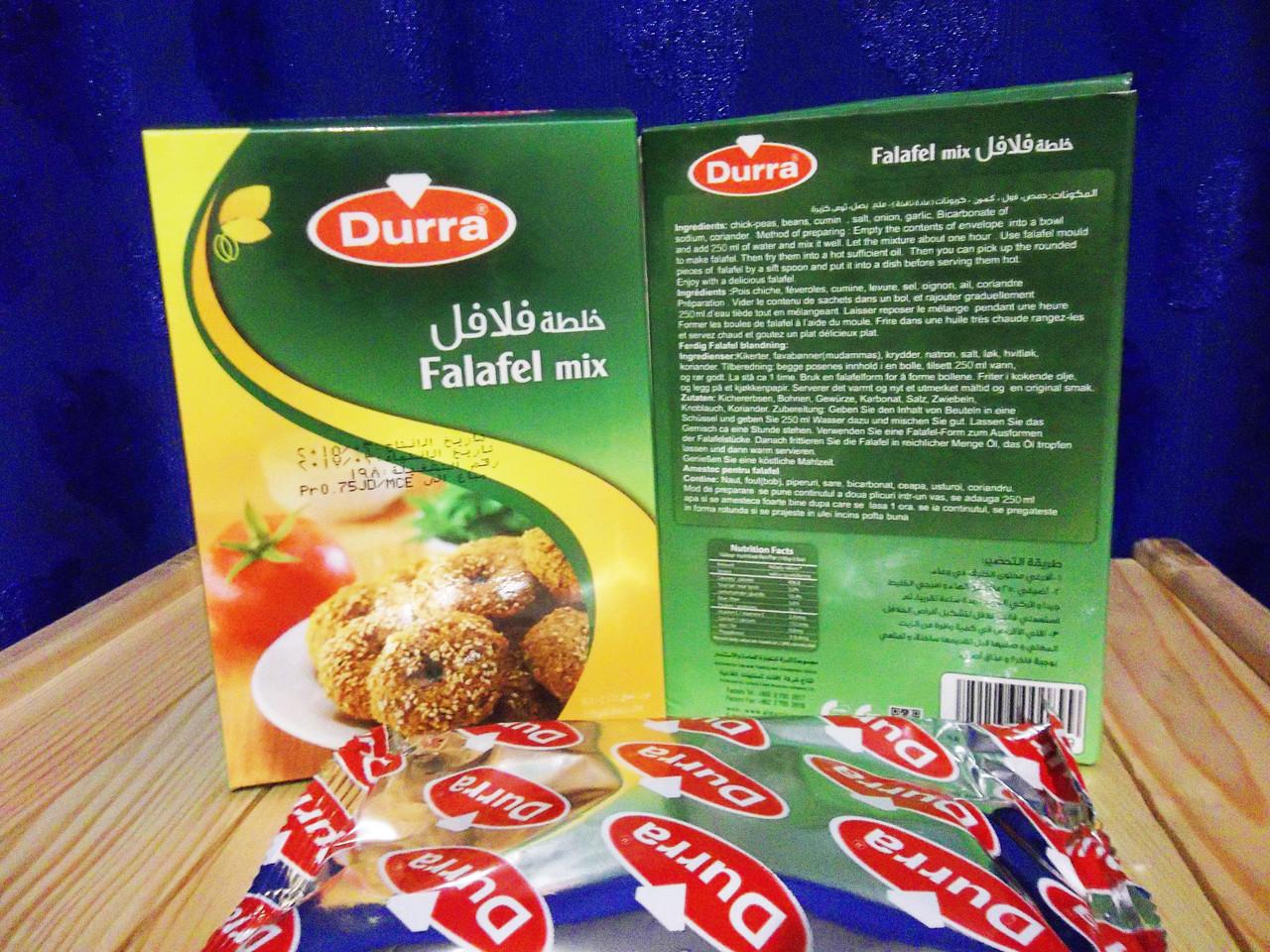 Фалафель. Сухая смесь для фалафеля Al Durra 175 гр