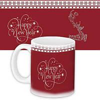 Кружка с принтом Happy New Year (KR_19NG041)