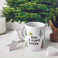Кружка с принтом Have a happy winter (KR_19NG031)