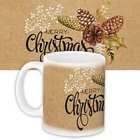 Кружка с принтом Merry Christmas (KR_17NG123)