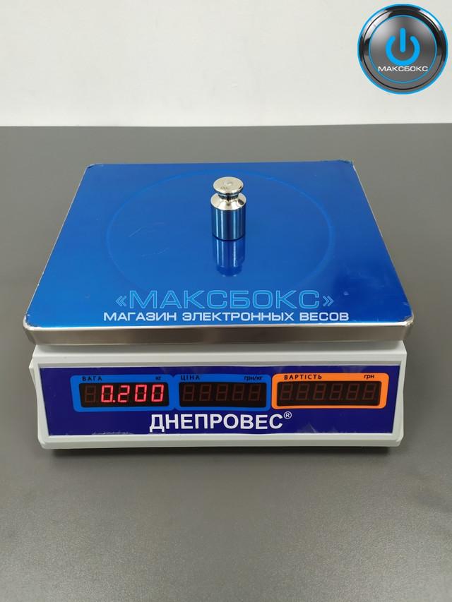 Весы электронные торговые до 30 кг — Днепровес ВТД Т1