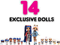 L.O.L. Surprise! Amazing Surprise with 14 Dolls 559764E7C Дивовижний сюрприз 14 ляльок 70 сюрпризів B07PMN4NJD