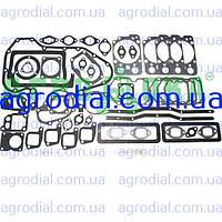 "Набор прокладок двигателя А-41""Алтаец"" (разд.головка) паронит+рти+герметик"