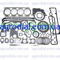 Набор прокладок двигателя Д-245 (МТЗ)  нового образца паронит+рти+герметик