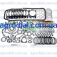 Набор прокладок двигателя КАМАЗ паронит+рти+герметик