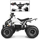 Квадроцикл для подростков Profi HB-EATV 1000Q2-1(MP3) белый, фото 8